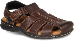 Dr. Scholl's Dr. Scholls Gaston Men's Leather Fisherman Sandals