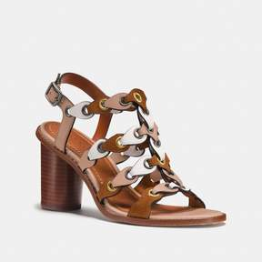 Coach New YorkCoach Mid Heel Sandal With Link