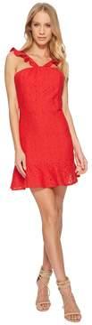 J.o.a. Lace Fit Flare Dress Women's Dress