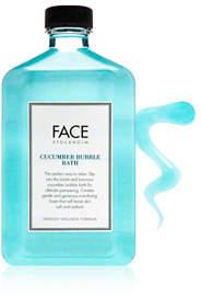 Face Stockholm Cucumber Bubble Bath
