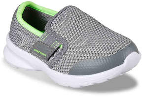 Skechers Boys Skech-Stepz Power Stride Toddler Slip-On Sneaker