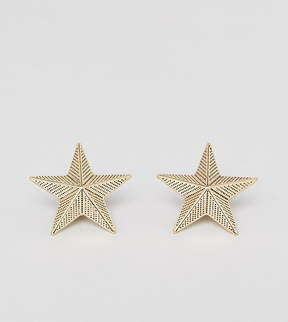Reclaimed Vintage Inspired Star Collar Tips In Antiqued Gold Exclusive To ASOS