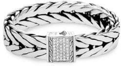 John Hardy Silver Modern Chain Bracelet