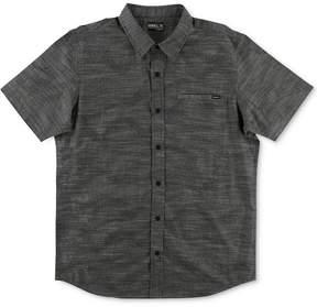 O'Neill Men's Walkabout Tonal Abstract-Print Cotton Shirt