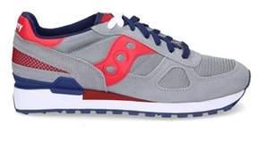 Saucony Men's Grey Suede Sneakers.