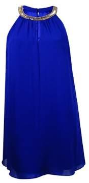 Vince Camuto Women's Embellished Chiffon Shift Dress