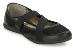 Me Too Heather Leather-Accented Flats
