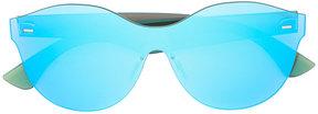 RetroSuperFuture tinted frameless sunglasses