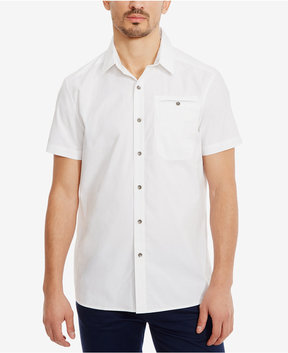 Kenneth Cole New York Men's Stretch Ripstop Shirt