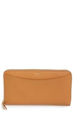 Skagen Women's Leather Continental Wallet - Beige