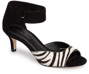 Pelle Moda Women's 'Berlin' Genuine Calf Hair Sandal