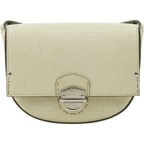 Ghurka Ecru Leather Handbag