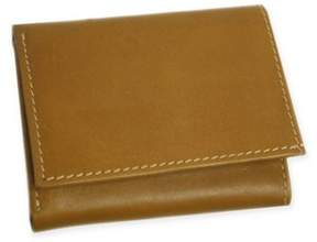 Piel Leather Classic Tri-Fold Wallet in Saddle
