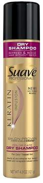 Suave Professionals Keratin Infusion Color Care Dry Shampoo 4.3 oz