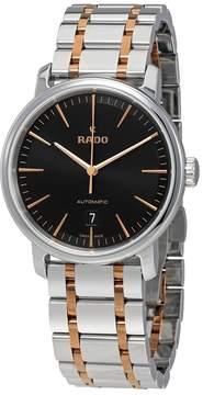 Rado DiaMaster XL Black Dial Men's Watch