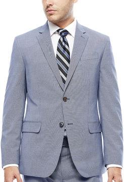 Jf J.Ferrar JF Blue Pattern Jacket - Slim Fit