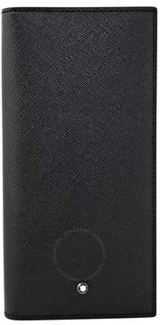 Montblanc Sartorial Long Wallet 6CC Zip - Black
