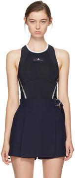 adidas by Stella McCartney Navy Barricade Climacool Tennis Tank Top