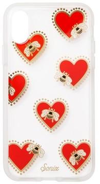 Sonix Bee Still Iphone X Case - Red