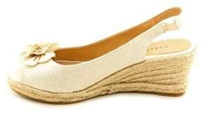Karen Scott Women's Daisy Slingback Wedge Sandals.