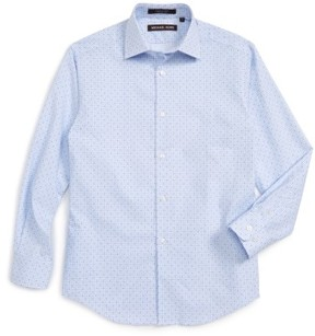 Boy's Michael Kors Gingham Dress Shirt
