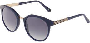 Balmain Round Acetate Sunglasses