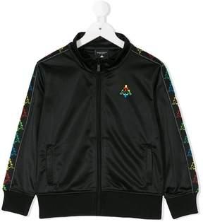 Marcelo Burlon County of Milan Kids embroidered logo jacket