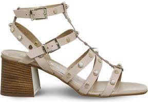 Office Margate studded block heel sandals