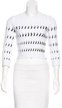 Alaia Cutout Crop Top