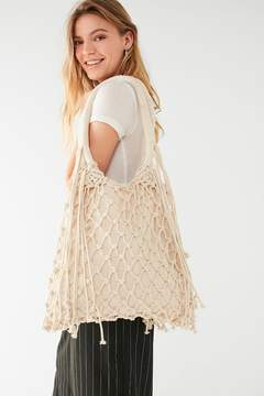 Urban Outfitters Macrame Net Shoulder Bag
