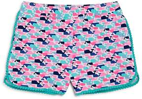Vineyard Vines Girls' Whale-Print Shorts - Big Kid, Little Kid
