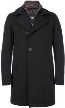 Herno large collar coat