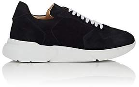 Barneys New York MEN'S CHUNKY-SOLE SUEDE SNEAKERS