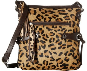 Scully - Bernette Leopard Print Bag Bags