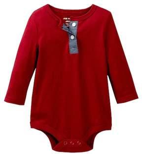 Joe Fresh Henley Bodysuit (Baby Boys 3-12M)