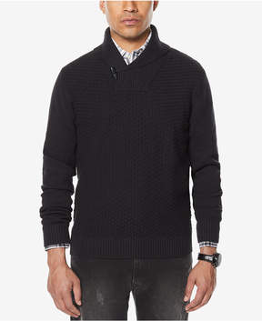 Sean John Men's Shawl-Collar Sweater, Created for Macy's
