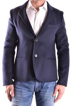 Peuterey Men's Blue Wool Blazer.