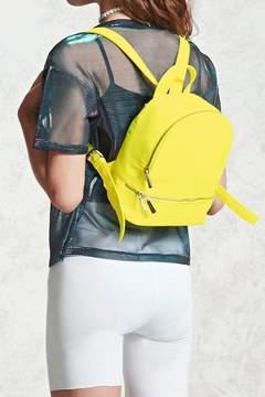 FOREVER 21 Neon Nylon Mini Backpack