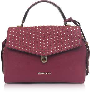 Michael Kors Bristol Mulberry Studded Leather Top Handle Satchel Bag - ONE COLOR - STYLE