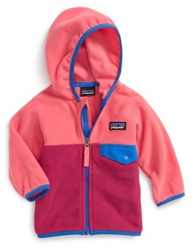 Patagonia Infant Girl's Micro D Snap-T Fleece Jacket