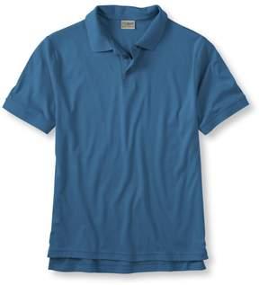 L.L. Bean L.L.Bean Pima Cotton Polo Shirt, Banded Short-Sleeve