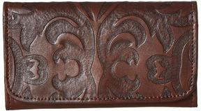 American West Baroque Trifold Wallet Wallet Handbags