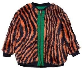 Bobo Choses Faux Fur Reversible Hypnotized Jacket