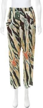 Baja East High-Rise Silk Pants w/ Tags