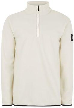 Nicce White Fleece Jacket