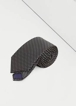 Mango Outlet Polka-dot patterned tie