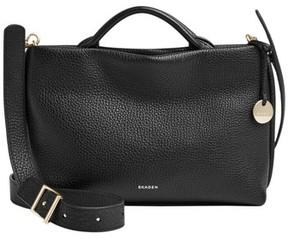 Skagen Mikkeline Mini Leather Satchel - Black