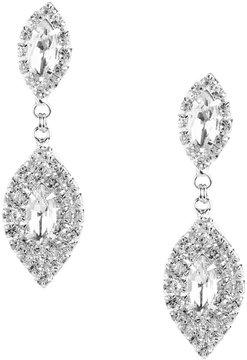 Cezanne Clip-On Rhinestone Statement Earrings