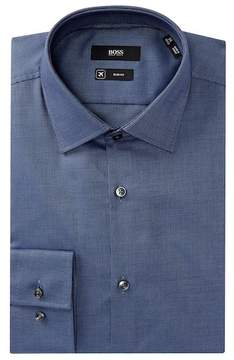 HUGO BOSS Jenno Slim Fit Solid Dress Shirt