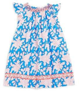Roberta Roller Rabbit Toddler's, Little Girl's, and Girl's Antonia Floral-Print Dress